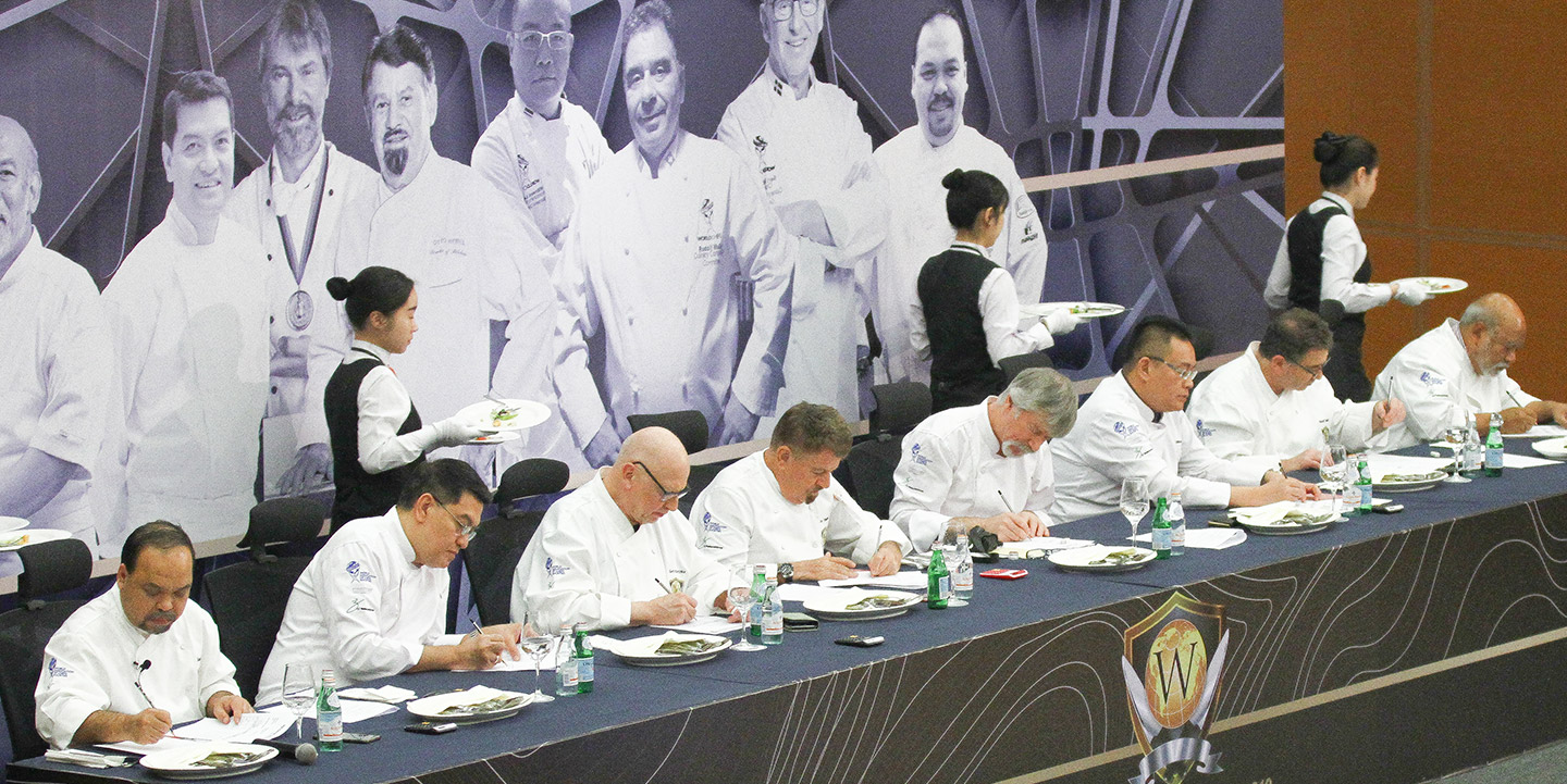 Judges at Worldchef Battlefield